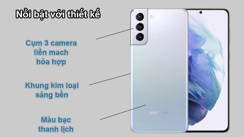 Samsung Galaxy S21+ 5G | Thiết kế nổi bật