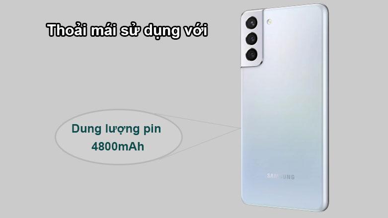 Samsung Galaxy S21+ 5G | Dung lượng pin 4800mAh