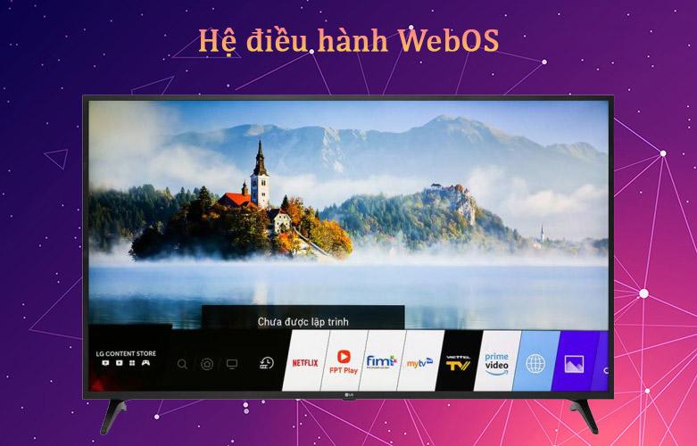 Smart Tivi LG 4K 43 inch 43UN7300PTC | Hệ điều hành WebOS