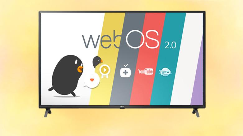 Smart Tivi LG 4K 49 inch 49UN7300PTC | Hệ điều hành thân thiện