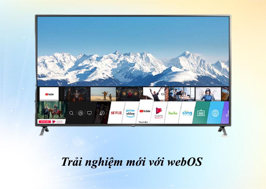 Smart Tivi LG 4K 55 inch 55UN7190PTA | Trải nghiệm mới với webOS