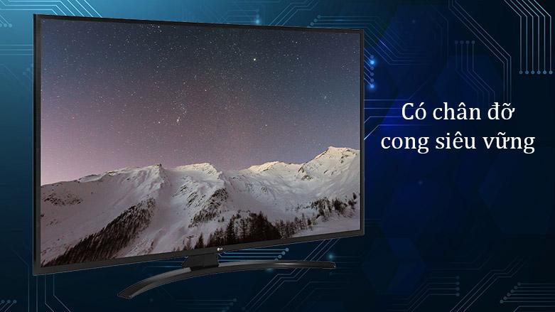 Smart Tivi LG 4K 55 inch 55UN7400PTA | Có chân đỡ cong siêu vững