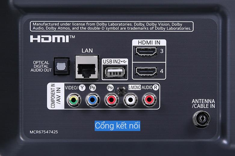 Smart Tivi LG 4K 65 inch 65NANO81TNA | Công nghệ điều khiển hiện đại