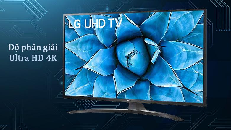 Smart Tivi LG 4K 65 inch 65UN7400PTA | Độ phân giải Ultra HD 4K