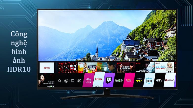 Smart Tivi LG 4K 65 inch 65UN7400PTA | Công nghệ hình ảnh HDR10