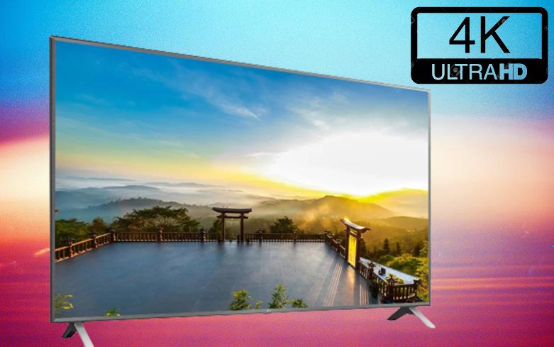 Smart Tivi LG 4K 75 inch 75UN8000PTB   Màn hình 4K