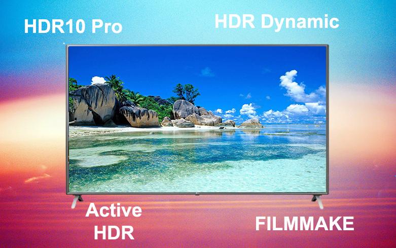 Smart Tivi LG 4K 75 inch 75UN8000PTB   Công nghệ hình ảnh hiện đại