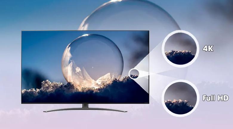 Smart Tivi NanoCell LG 4K 55 inch 55NANO86TNA | Độ phân giải 4K