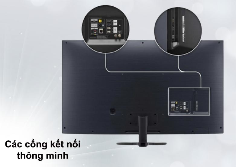 Smart Tivi NanoCell LG 4K 55 inch 55NANO86TNA | Cổng kết nối thông minh
