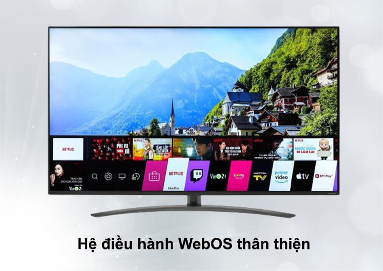 Smart Tivi NanoCell LG 4K 55 inch 55NANO86TNA | Hệ điều hành WebOS thân thiện