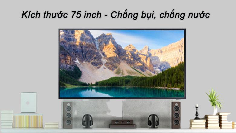 Smart Tivi Ngoài Trời The Terrace QLED Samsung 4K 75 inch QA75LST7T | Chống bụi, chống nước