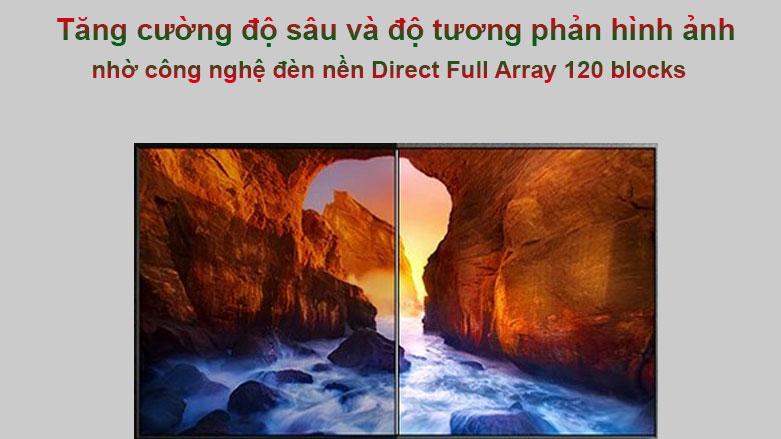 Smart Tivi Ngoài Trời The Terrace QLED Samsung 4K 75 inch QA75LST7T | Tặng cường độ sâu và độ tương phản hình ảnh