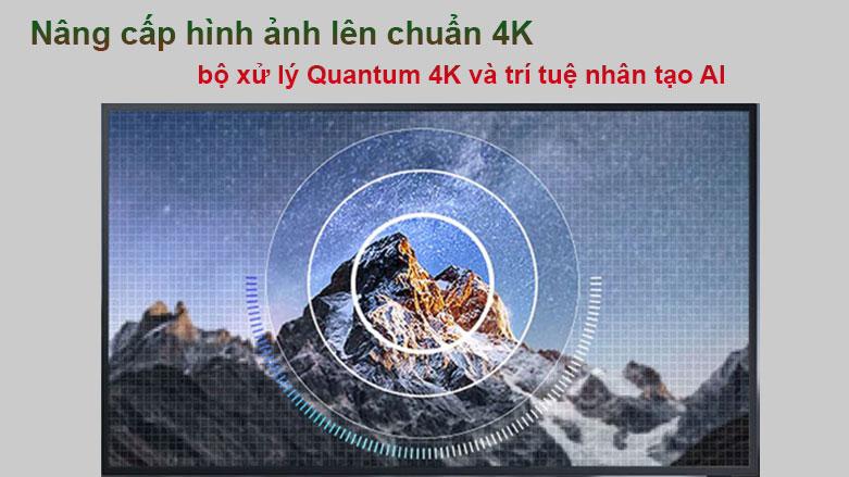 Smart Tivi Ngoài Trời The Terrace QLED Samsung 4K 75 inch QA75LST7T | Nâng cấp hình ảnh lên chuẩn 4K