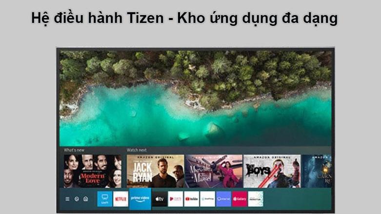 Smart Tivi Ngoài Trời The Terrace QLED Samsung 4K 75 inch QA75LST7T | Hệ điều hành Tizen, Kho ứng dụng đa dạng