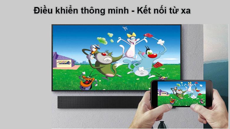 Smart Tivi Ngoài Trời The Terrace QLED Samsung 4K 75 inch QA75LST7T | Điểu khiển thông minh, Kết nối từ xa