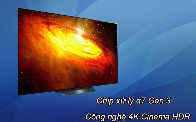 Smart Tivi OLED LG 4K 55 inch 55BXPTA | Chip xử lý a7 Gen 3