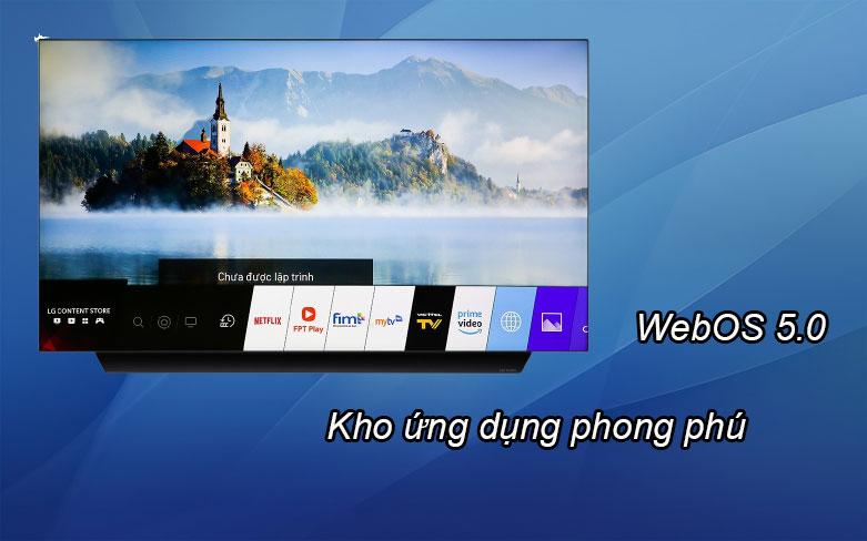 Smart Tivi OLED LG 4K 55 inch 55BXPTA | Kho ứng dụng phong phú