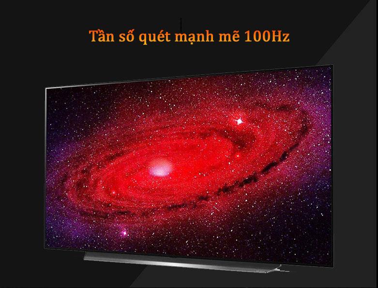 Smart Tivi OLED LG 4K 55 inch 55CXPTA | Tần số quét mạnh mẽ 100 Hz