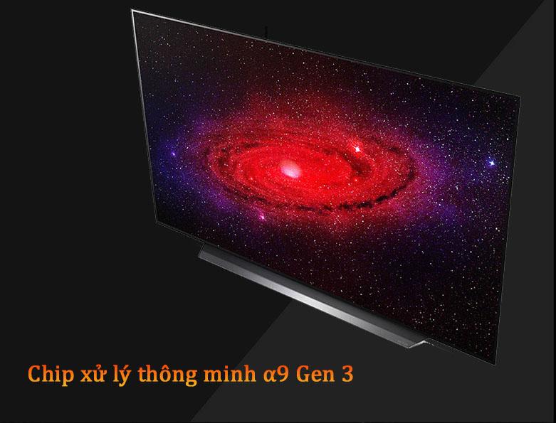Smart Tivi OLED LG 4K 55 inch 55CXPTA | Chip xử lý thông minh a9 Gen 3