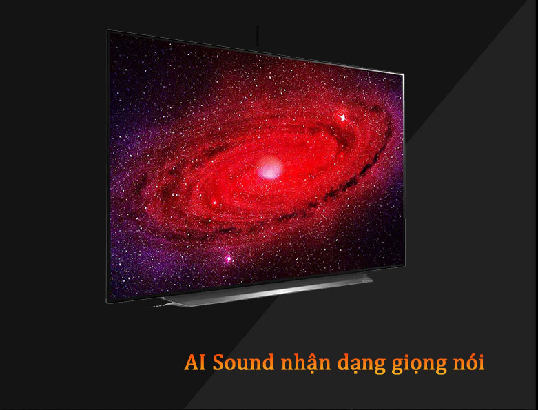Smart Tivi OLED LG 4K 55 inch 55CXPTA | AI Sound nhận dạng giọng nói