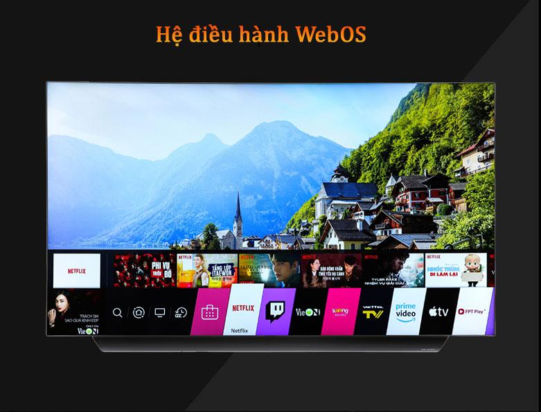 Smart Tivi OLED LG 4K 55 inch 55CXPTA | Hệ điều hành WebOS