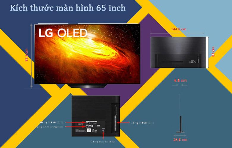 Smart Tivi OLED LG 4K 65 inch 65BXPTA | Thiết kế snag trọng