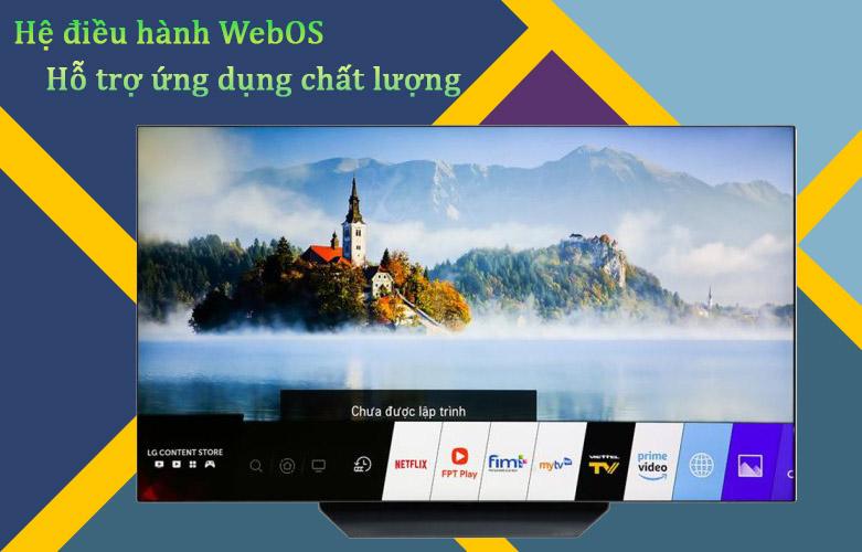 Smart Tivi OLED LG 4K 65 inch 65BXPTA | Hệ điều hành WebOS, Hỗ trợ ứng dụng chất lượng