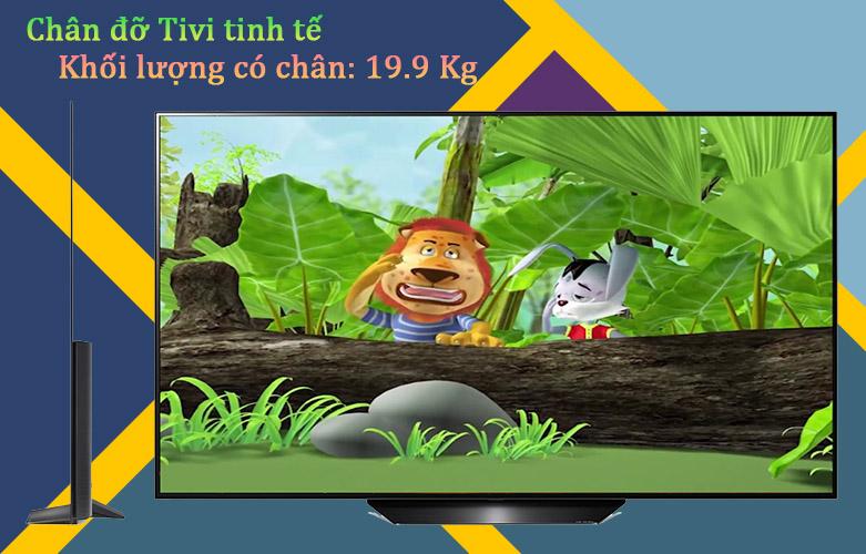 Smart Tivi OLED LG 4K 65 inch 65BXPTA | Chân đỡ tivi tinh tế