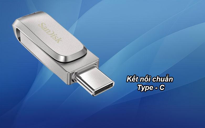 USB 3.1 Sandisk Ultra Dual Drive Luxe 32GB - SDDDC4-032G-G46 | Kết nối chuẩn Type - C