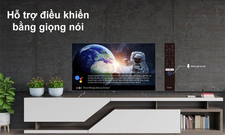 Android Tivi Casper 4K 55 inch 55UG6300 | Hỗ trợ điều khiển băng giọng nói