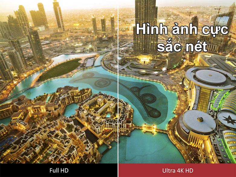 Android Tivi Sony 4K 55 inch KD-55X8050H | Hình ảnh cực sắc nét