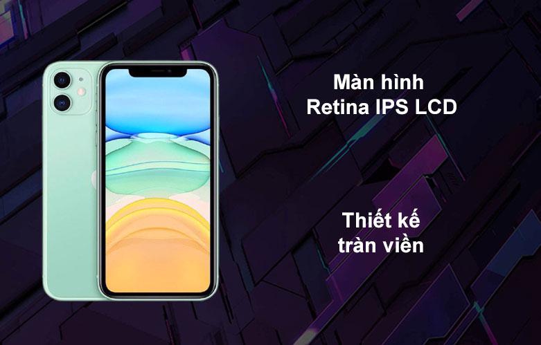 iPhone 11 | Màn hình Retina ÍP LCD