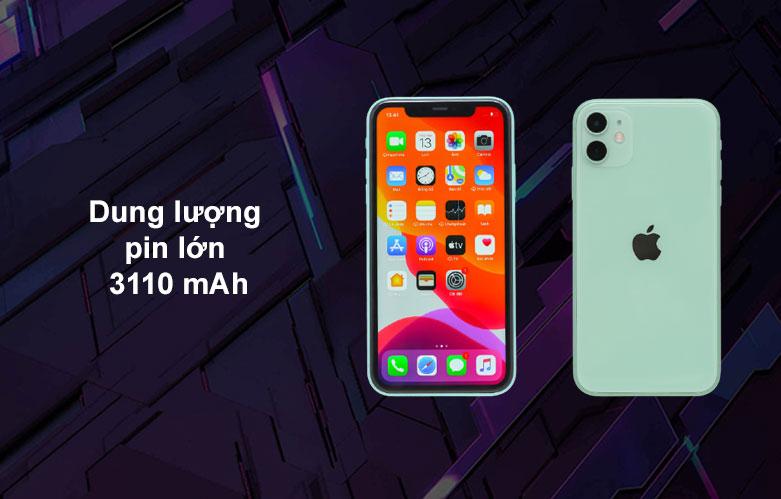 iPhone 11 | Dung lượng pin cao
