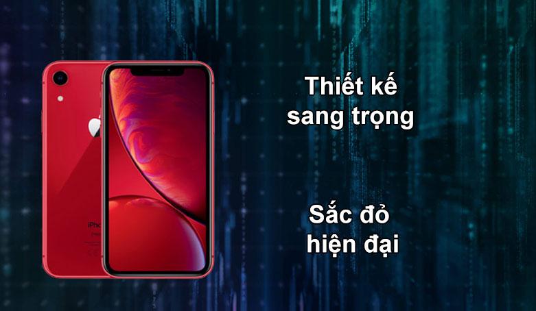 iPhone XR RED 64GB MH6P3VN/A | Thiết kế sang trọng