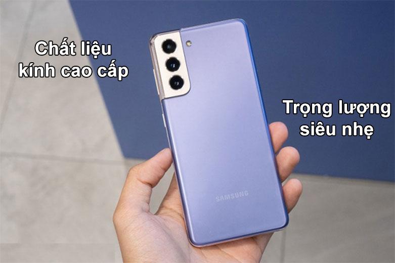 Samsung Galaxy S21+ 5G | Chất liệu kính cao cấp, Trọng lượng siêu nhẹ
