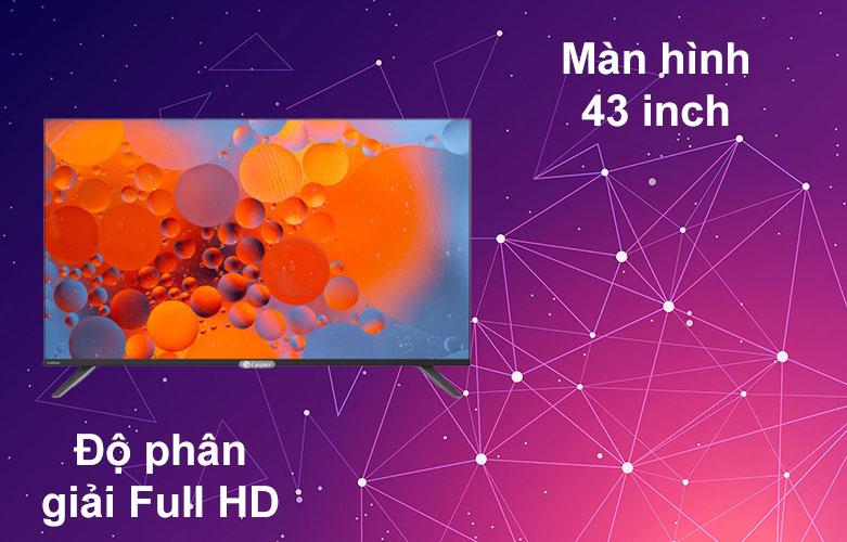 Internet Tivi Casper 43 inch 43FX6200 | Màn hình 43 inch, Độ phân giải Full HD