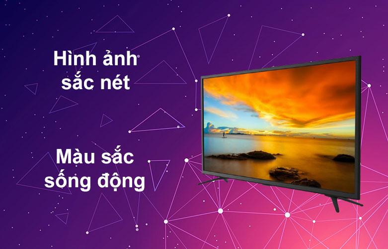 Internet Tivi Casper 43 inch 43FX6200 | Hình ảnh sắc nét, Màu sắc sống động