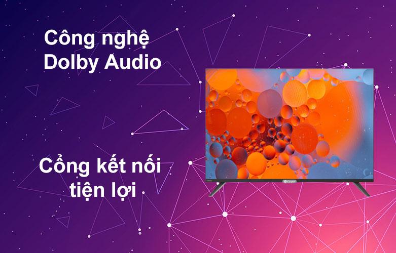 Internet Tivi Casper 43 inch 43FX6200 | Công nghệ Dolby Audio, Cổng kết nối hiện đại
