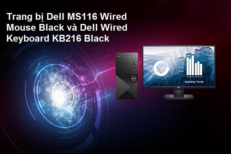 Máy tính để bàn Dell Vostro 3888 | Trang bị nhiều phụ kiện tiện lợi