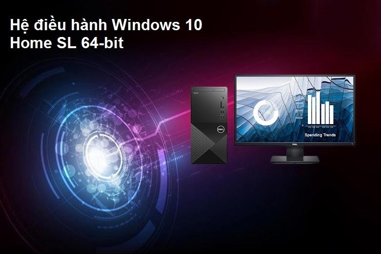 Máy tính để bàn Dell Vostro 3888 | Hệ điều hành thân thiện