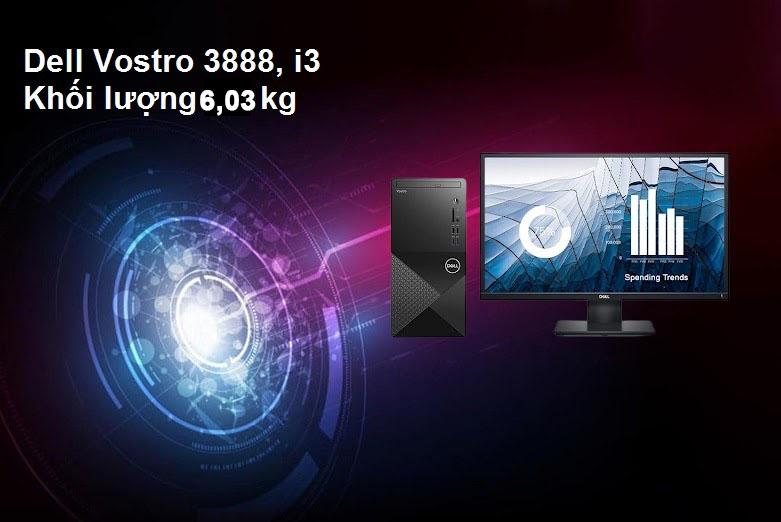 Máy tính để bàn Dell Vostro 3888 | Thiết kế nhỏ gọn