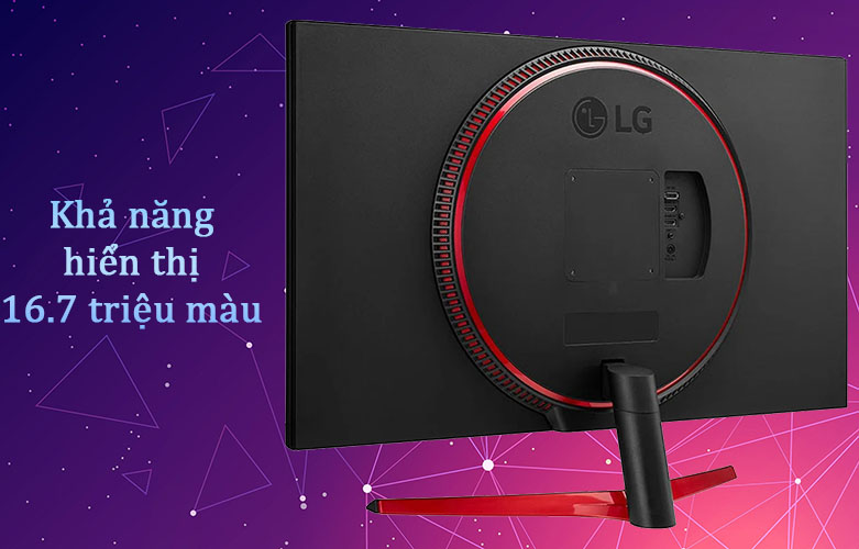 Màn hình LCD LG 31.5'' 32GN600-B.ATV | Khả năng hiển thị 16.7 triệu màu