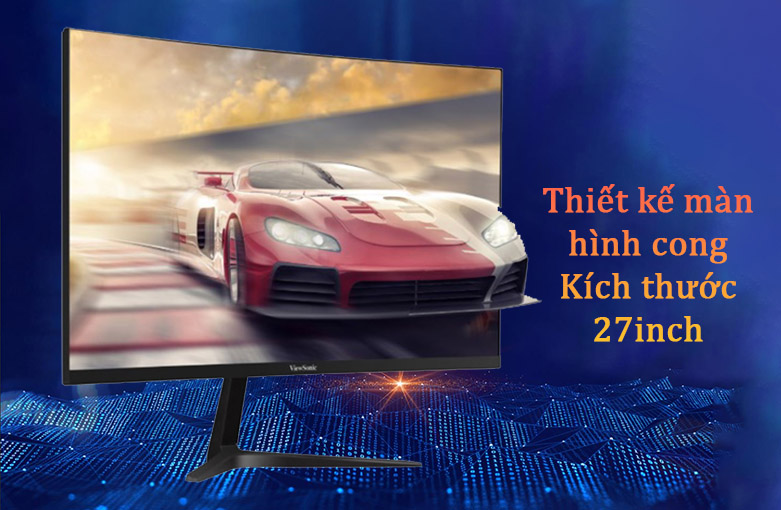 """Màn hình LCD Viewsonic 27"""" VX2718-PC-MHD   Thiết kế màn hình cong kích thước 27 inch"""