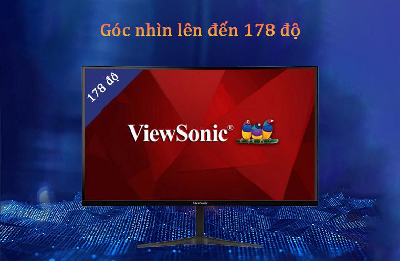 """Màn hình LCD Viewsonic 27"""" VX2718-PC-MHD   Góc nhìn lên đến 178 độ"""