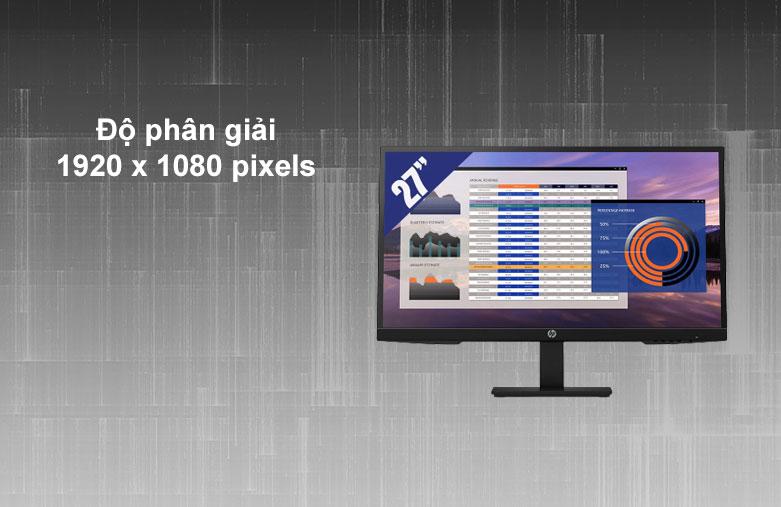 Màn hình LCD HP 27 inch P27h G4_7VH95AA | Độ phân giải Full HD