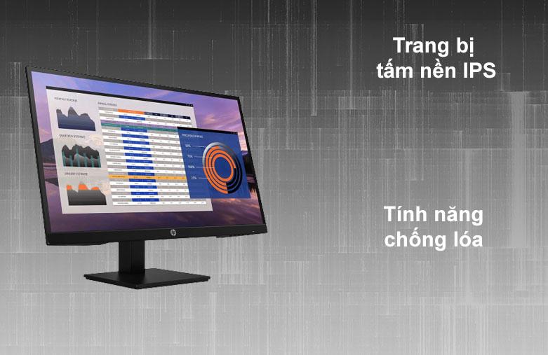 Màn hình LCD HP 27 inch P27h G4_7VH95AA | Tâm nên IPS | Chống chói lóa