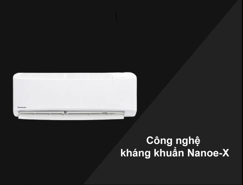 Máy lạnh Panasonic Inverter 1.5 HP CU/CS-XPU12WKH-8   Công nghệ kháng khuẩn