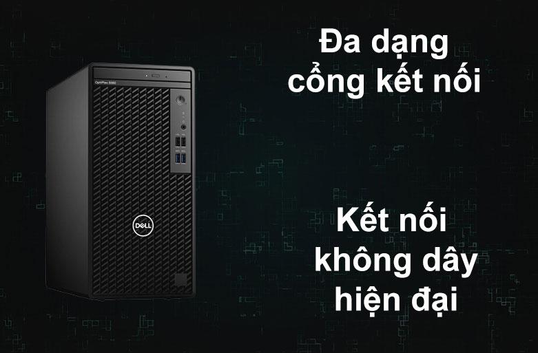 PC Dell OptiPlex 3080 MT | Đa dạng cổng kết nối, Kết nối không dây hiện đại