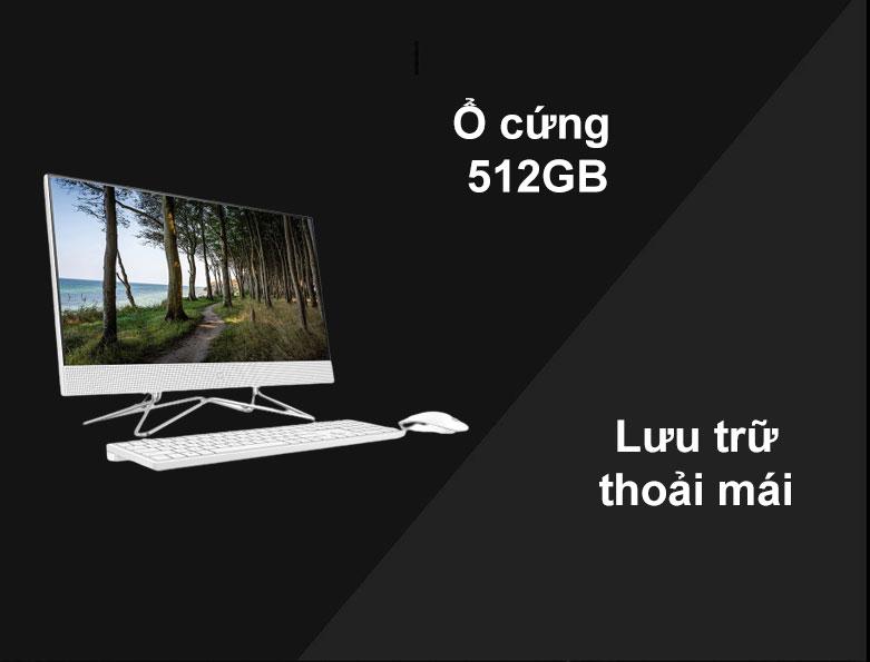 PC HP AIO 24-df0039d   Hiệu năng ổn định
