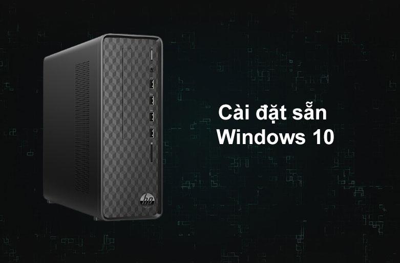 PC HP S01-pF1142d | Cài đặt sẵn Window 10